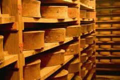 干酪industy在法国 库存图片