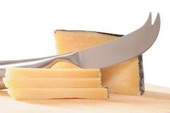 干酪manchego 免版税库存照片