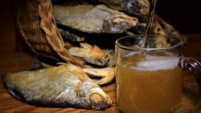 干鱼和啤酒 影视素材