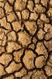 干渴干燥地面 一个外籍人行星的表面 免版税库存图片