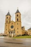 平原的大教堂 免版税库存照片