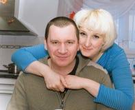 平均夫妇与s结婚 免版税库存图片