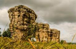平均观测距离Hin Khao,泰国 免版税图库摄影