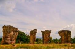 平均观测距离Hin Khao,泰国 库存照片