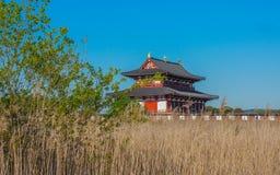平城宫,奈良 库存照片