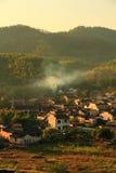 平安和安静的村庄 免版税库存图片