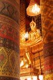 平安在寺庙 免版税库存图片