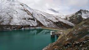 平安的水坝 免版税图库摄影