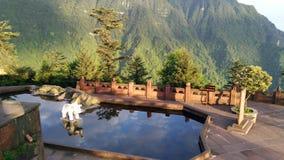 平安的水池 图库摄影