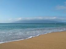 平安的海洋 免版税库存图片