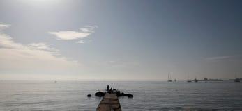 平安的海湾017 免版税图库摄影