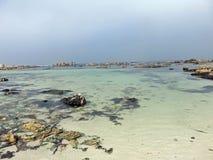 平安的海湾 免版税库存图片