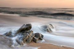 平安的海滩 图库摄影