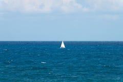 平安的海洋风景 免版税库存图片