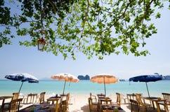 平安的海滩 免版税图库摄影