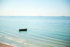 平安的海滨 免版税库存图片
