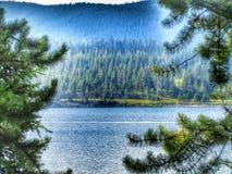 平安的湖 图库摄影