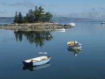 平安的湖 库存照片
