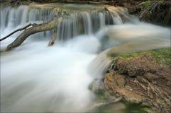 平安的瀑布 库存照片