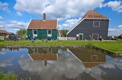 平安的荷兰乡下 免版税库存照片