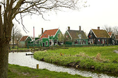 平安的荷兰乡下 库存照片