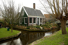 平安的荷兰乡下 库存图片