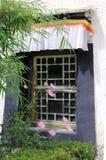 平安的角落在西藏 免版税库存照片