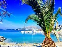 平安的Ciovo海岛 库存照片