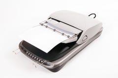 平床扫描器 免版税库存图片