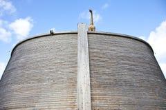 平底船复制品诺亚 库存照片
