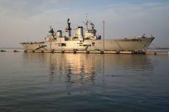 平底船英国端口 图库摄影