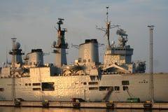 平底船英国 库存照片