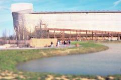 平底船遭遇- Williamstown,肯塔基 免版税图库摄影