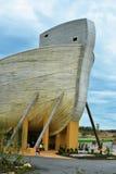 平底船遭遇- Williamstown,肯塔基 库存图片