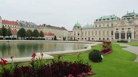平底锅眺望楼维也纳奥地利王子住所,巴洛克式 影视素材