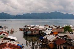 平房在Busuanga的Coron镇 免版税库存照片