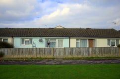 平房样式家在英国 库存图片