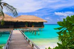 平房海岛热带水 免版税图库摄影