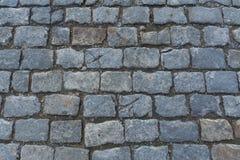 平板灰色铺路板 免版税库存图片