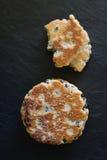 平板炉结块或威尔士蛋糕 免版税库存图片