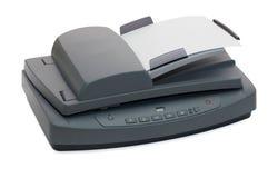 平板车多功能扫描程序 库存图片
