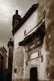 平民古老的大厦 免版税库存图片