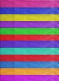 水平的五颜六色的条纹丝带背景 免版税库存图片