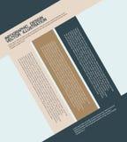 平的企业infographics例证 免版税图库摄影