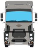 平的传染媒介被隔绝的卡车车 向量例证