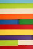 水平的多彩多姿的木板条,背景的 免版税库存照片