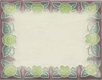 水平的框架卡片 图库摄影