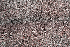 水平的棕色地面土壤纹理背景 免版税库存图片