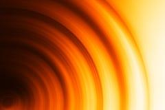 水平的橙色圈子bokeh背景 库存图片