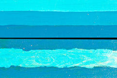 水平的蓝色委员会 免版税图库摄影